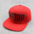5 panel snapback back leather strapback cap hat flat and rope bill