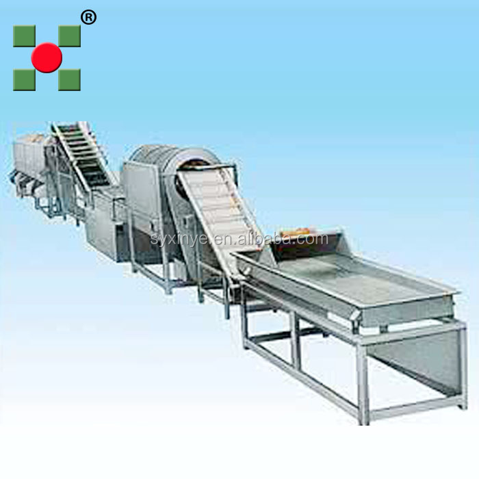 frozen fruit & vegetable processing production line machines/frozen melon freezing processing line plant