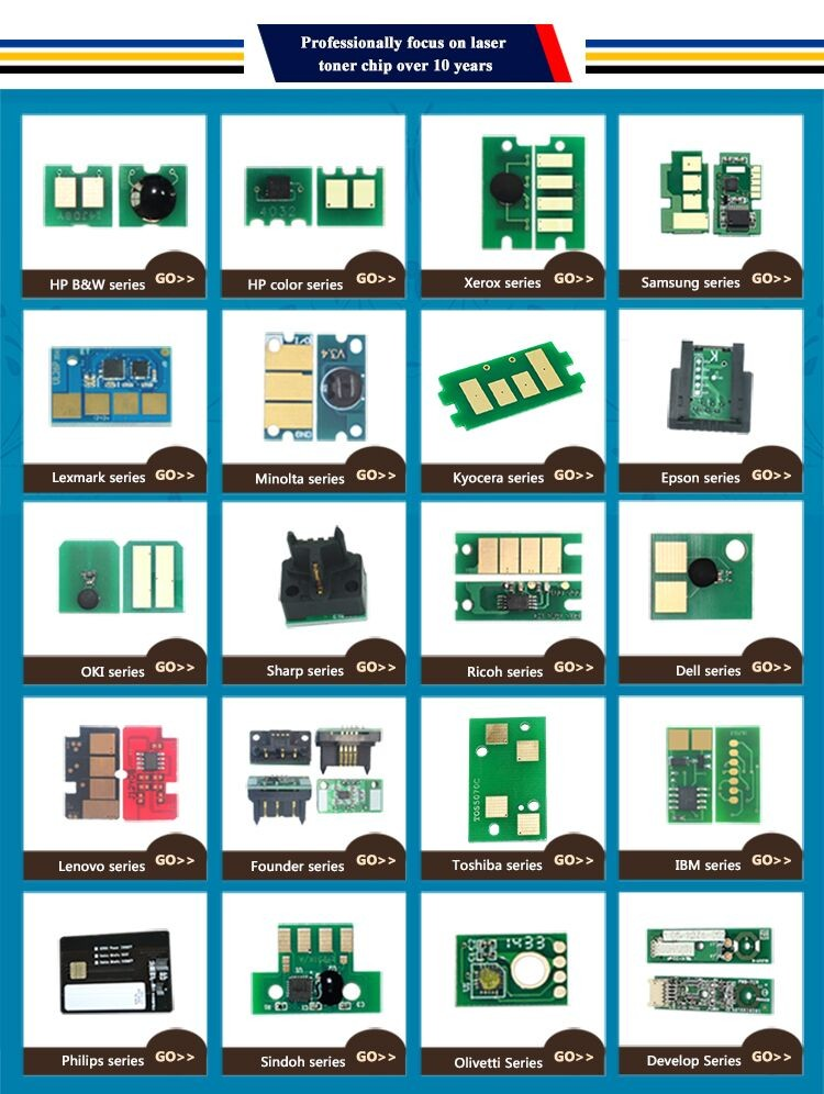 Compatible JYD-D203 toner chip MLT-D203S MLT-D203L MLT-D203E for Sam ProXpress SL-M3320/3820/4020, M3370/3870/4070