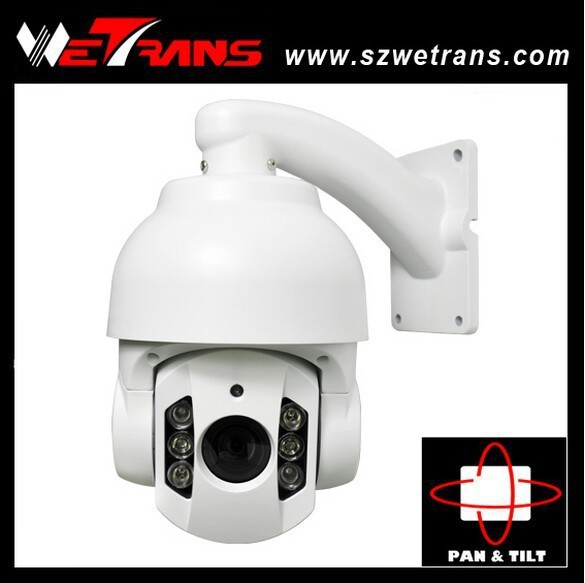 CCTV Camera 220 Presets 8 Groups 4 Cruise 360 Degree Continuous Pan Rotation Speed UP To 200Degree/s PTZ Dome Camera