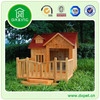 Luxury Wood Dog Kennel With Balcony DXDH012