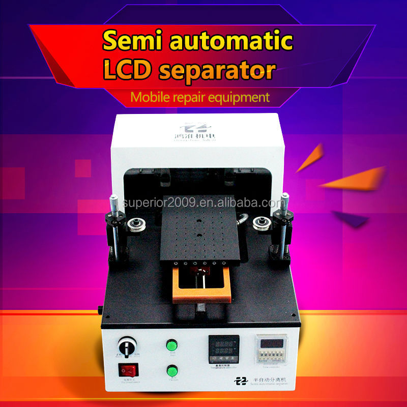 Built-in Vacuum Pump Semi-Automatic LCD Separator Machine for Separating Assembly LCD Touch Screen Glass