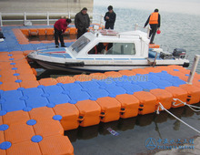 plastic pontoon floats dock