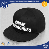 New product China manufacture 3D plastic logo snapback caps hats wholesale
