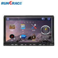 Indash gps dvd Luxury dashboard wince 7 inch double din car gps dvd