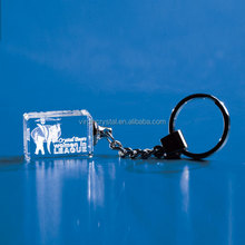 Cheap Top Quality Crystal Keychain With Metal Ring For Crystal Take Gift