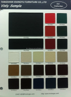 PVC material leather fabric for commercial furniture upholstery part