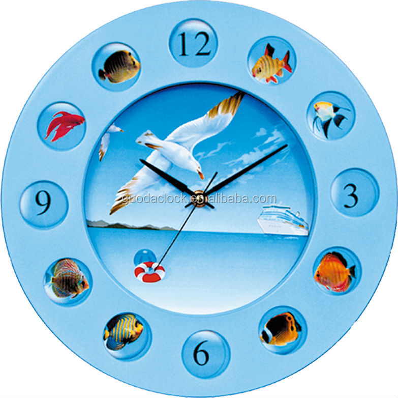 Wall clock images for kids for Kids room clock