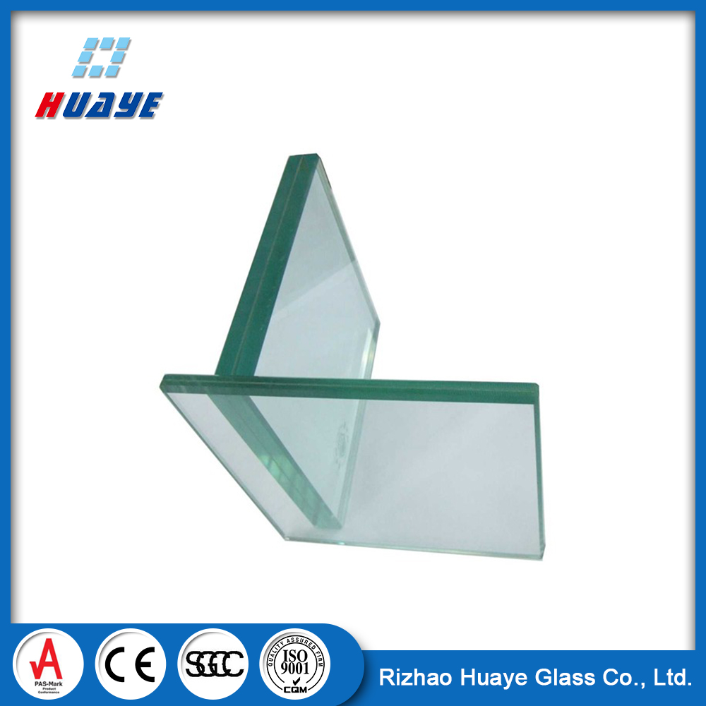 Safety Clear Laminated Glass UV Protection
