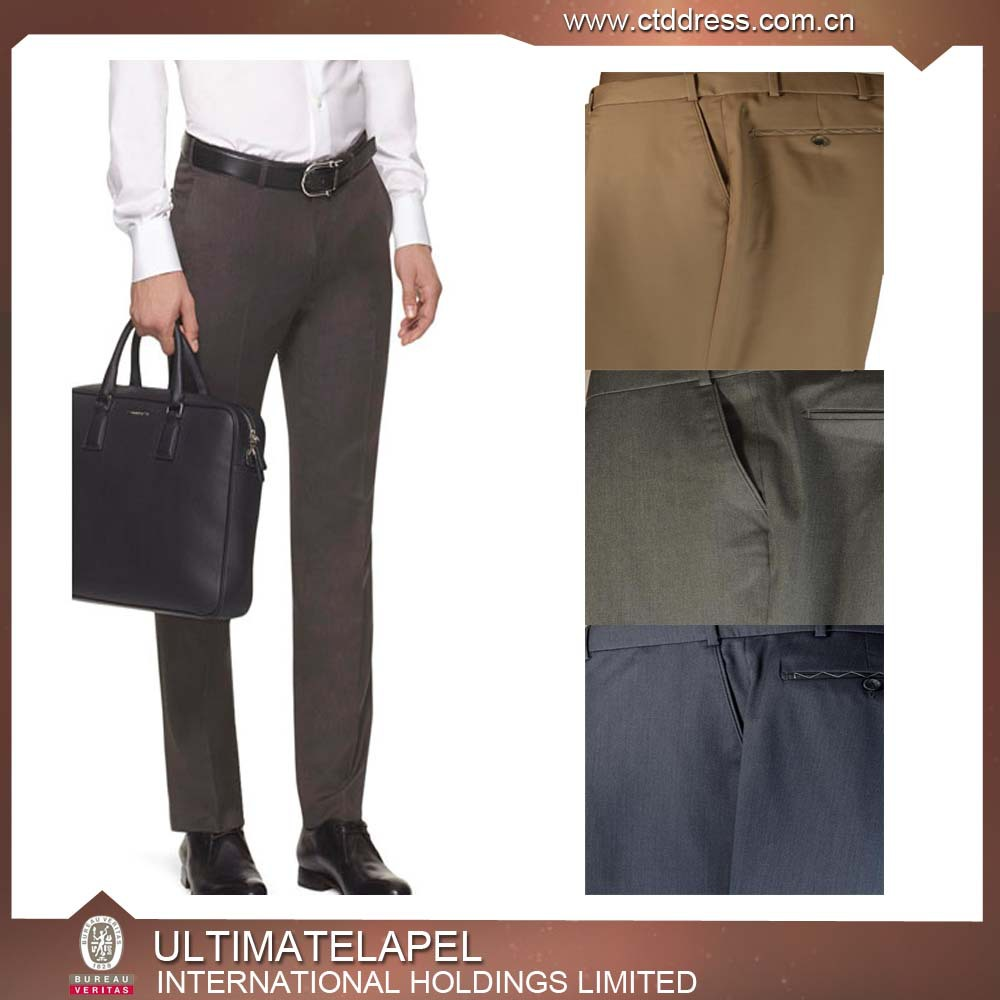100%wool top quality custom tailored suit pant
