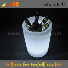 plastic bottle holder for 6 bottles,acrylic ice bucket,led lighted ice bucket