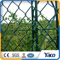 Pvc coated chain link fence 6 foot chain link fence
