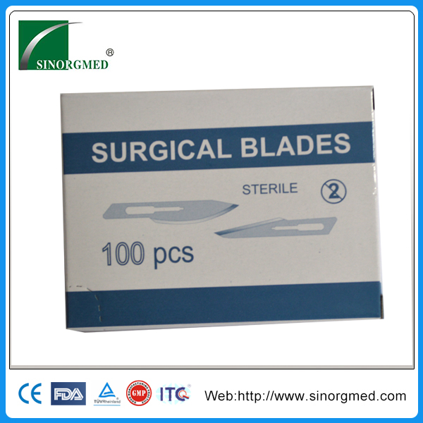 #15 Stainless Steel Disposable Surgical Blade