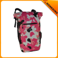 Pink PVC High Quality Waterproof Travel Sports School Backpack