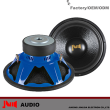 Fashionable New Blue Frame 500w RMS 10inch/12inch/15inch High Performance Car Subwoofer