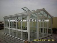 aluminium glass house,sunroom,sunlight room for garden