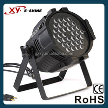 Pro led par 64 light 36x3w rgbw with best price