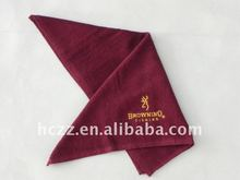pure cotton nice design embroidery sports towel