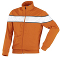 whole sale quality jersey custom zip up casual club jackets