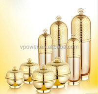 imperial crown shape jar with lid,50g plastic cosmetic packaging,30g new acrylic jar 2014,120ml luxury bottles