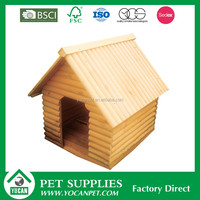 natural Easily Assembled large dog house