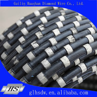 Diamond Wire Saw for marble quarry and squaring