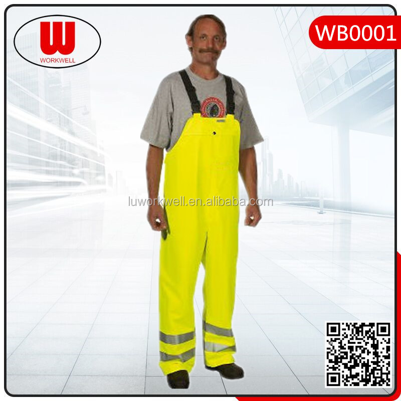 Adult reflective safety coverall workwear