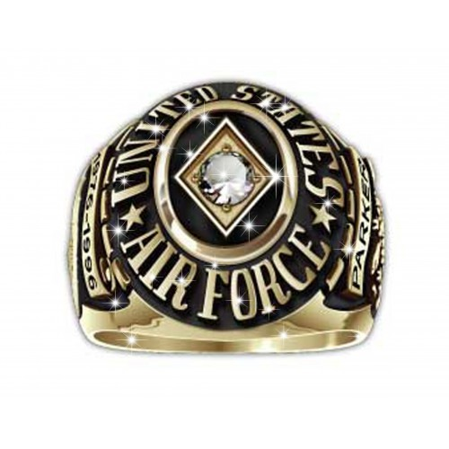 Military Air Force Ring