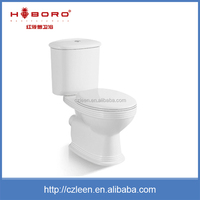 China manufacturer two piece ceramic wash down mobile portable toilet