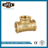 APEX Brass Pipe Fittings 90 Degree Lateral Tee