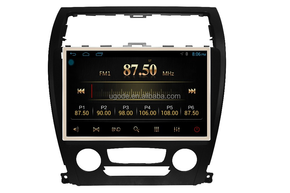 "ugode Android 4.4 5.1 RK PX3 10.1"" car stereo for 2015 Lifan 820"