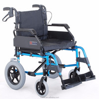 L135 health care products deluxe lightweight car transit wheelchair