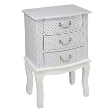 Classic bedside table vintage bedroom nightstand corner table panel furniture