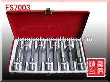 FS7003 hot sale auto tools 9pcs Hex Socket Wrench Kit