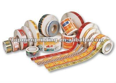 Imprim papier vinyle animal rouleau tiquette autocollant etiquettes d - Vinyle autocollant rouleau ...