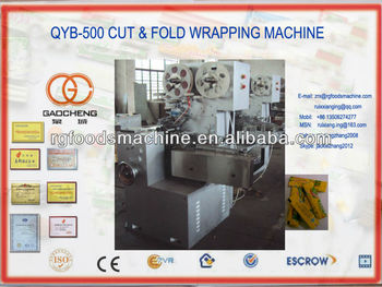QYB-500 cut & fold packing machine