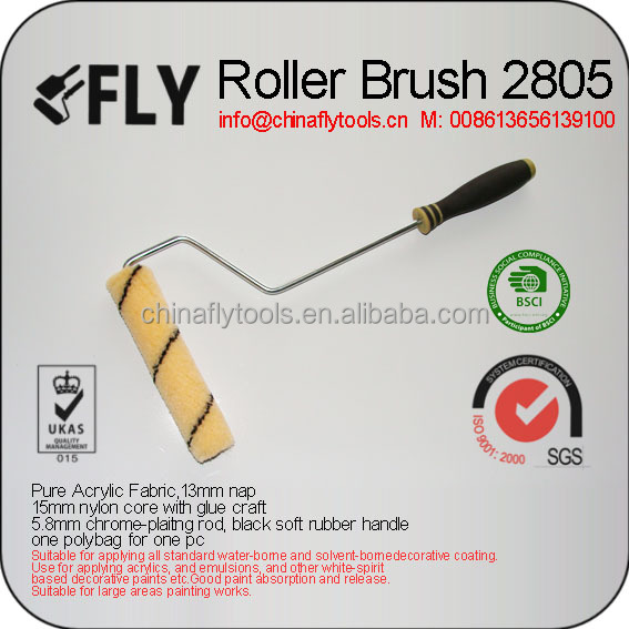 Soft Rubber Handle Roller Brush