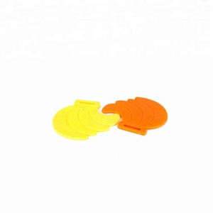 Low MOQ China Yellow and Orange EVA Plastic Banana Shape Fruit Chewing Teether for Baby Toys