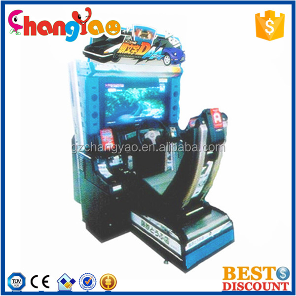 Popular Initial D 6 Car Racing Game Machine for Sale