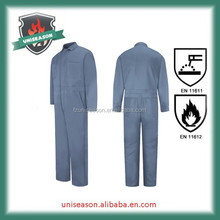 Inherently oil field flame retardant aramid safty working coverall