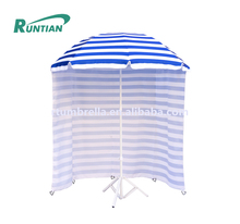 Fashion luxury sun beach umbrella tent