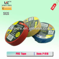 colorful PVC tape for cable wrapping