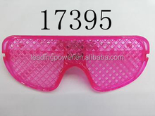 plastic party led flashing glasses cheap glasses shutter shades window 17395