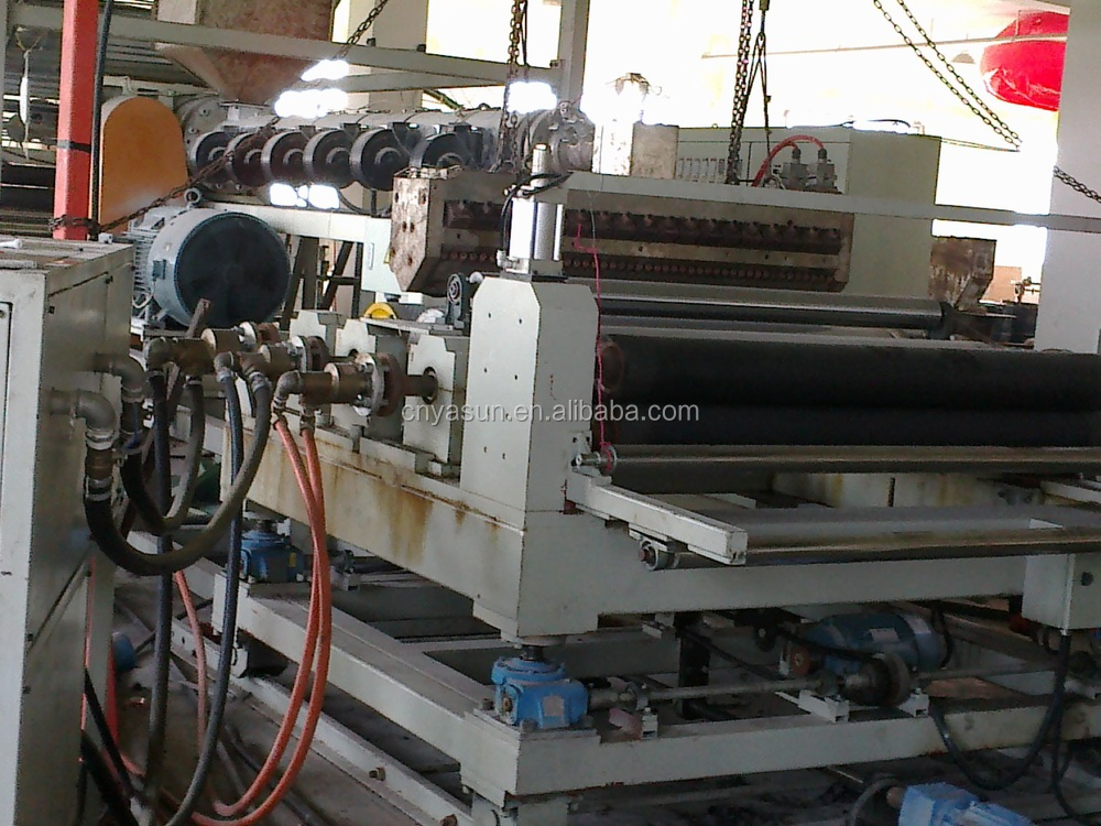 PVC door mat making machine/PVC coil mat machine