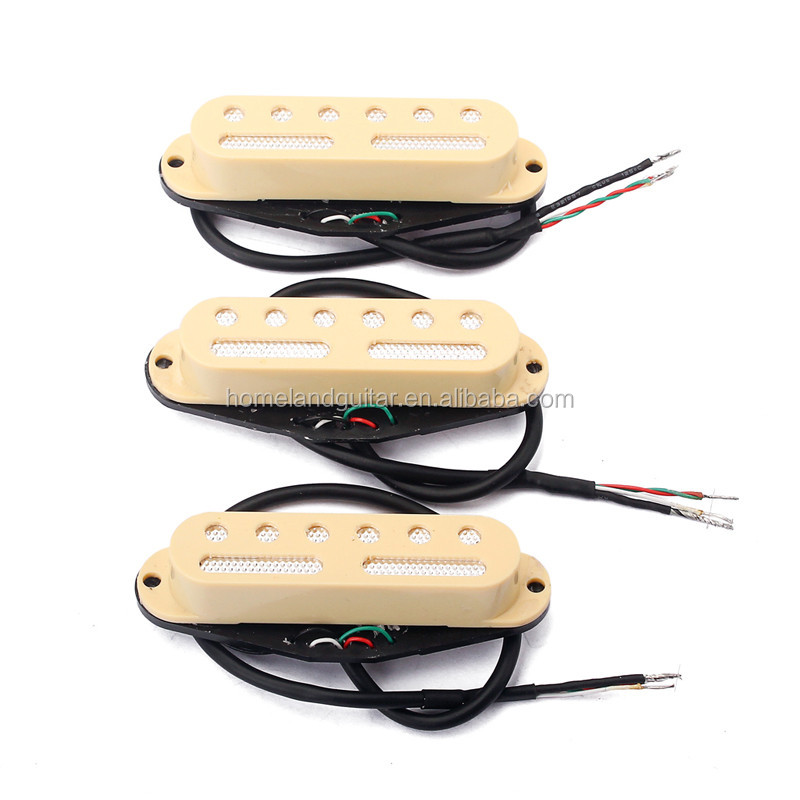 48,50,52 High Output Single Coil Pickup Yellow
