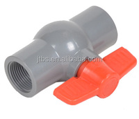 screw ball valve pvc pipe fittings for pvc pipe in water system