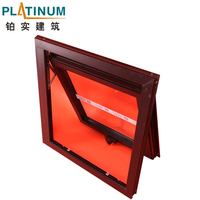 Top Quality Thermal Break Ventilation Glass Top Hung Window