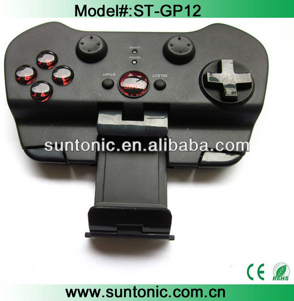 Potabble wireless bluetooth game pad for Iphone,ipad,samsung S4,S3,S4,and other android mobile phone