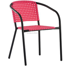 High quality Chinese classical cheap red plastic stacking chairs