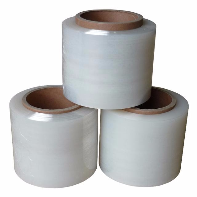Tear resistant 4cm-200cm Original material LLDPE Irregular stretch film